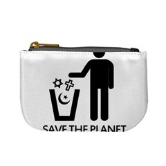 Save The Planet   Religions  Mini Coin Purses by Valentinaart