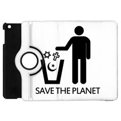 Save The Planet   Religions  Apple Ipad Mini Flip 360 Case