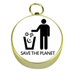 Save The Planet   Religions  Gold Compasses