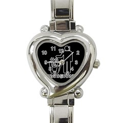 Save The Planet   Religions  Heart Italian Charm Watch