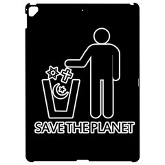 Save The Planet   Religions  Apple Ipad Pro 12 9   Hardshell Case by Valentinaart