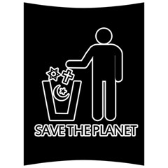 Save The Planet   Religions  Back Support Cushion by Valentinaart
