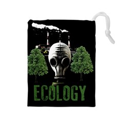 Ecology Drawstring Pouches (large)
