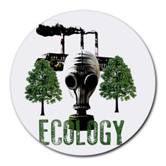 Ecology Round Mousepads