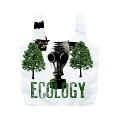 Ecology Full Print Recycle Bags (m)  by Valentinaart
