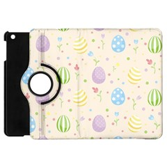 Easter Pattern Apple Ipad Mini Flip 360 Case