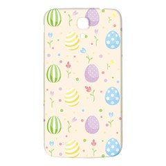 Easter Pattern Samsung Galaxy Mega I9200 Hardshell Back Case by Valentinaart
