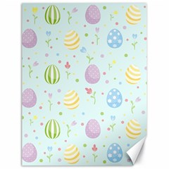 Easter Pattern Canvas 18  X 24   by Valentinaart