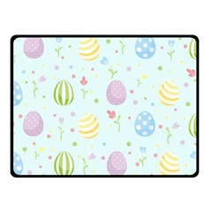 Easter Pattern Fleece Blanket (small) by Valentinaart