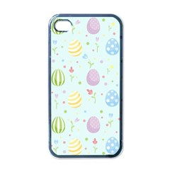 Easter Pattern Apple Iphone 4 Case (black)
