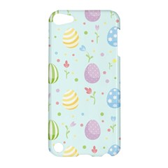 Easter Pattern Apple Ipod Touch 5 Hardshell Case by Valentinaart