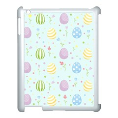 Easter Pattern Apple Ipad 3/4 Case (white) by Valentinaart