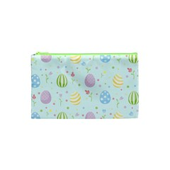 Easter Pattern Cosmetic Bag (xs) by Valentinaart