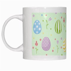 Easter Pattern White Mugs by Valentinaart