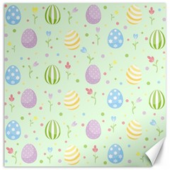 Easter Pattern Canvas 16  X 16   by Valentinaart