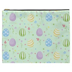 Easter Pattern Cosmetic Bag (xxxl)