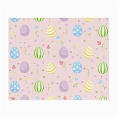 Easter Pattern Small Glasses Cloth by Valentinaart