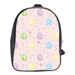 Easter Pattern School Bag (large) by Valentinaart