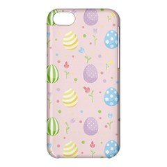 Easter Pattern Apple Iphone 5c Hardshell Case by Valentinaart