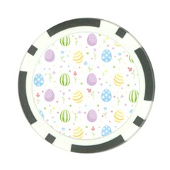 Easter Pattern Poker Chip Card Guard