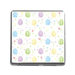 Easter Pattern Memory Card Reader (square)