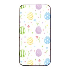 Easter Pattern Apple Iphone 4/4s Seamless Case (black) by Valentinaart