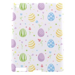 Easter Pattern Apple Ipad 3/4 Hardshell Case by Valentinaart