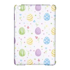 Easter Pattern Apple Ipad Mini Hardshell Case (compatible With Smart Cover) by Valentinaart