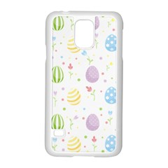 Easter Pattern Samsung Galaxy S5 Case (white) by Valentinaart