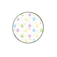 Easter Pattern Hat Clip Ball Marker by Valentinaart