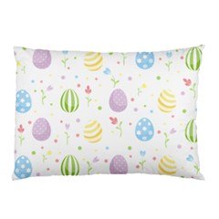 Easter Pattern Pillow Case (two Sides) by Valentinaart