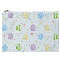 Easter Pattern Cosmetic Bag (xxl)  by Valentinaart