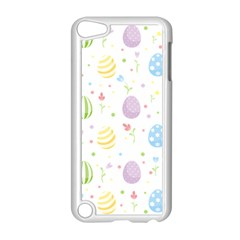 Easter Pattern Apple Ipod Touch 5 Case (white) by Valentinaart