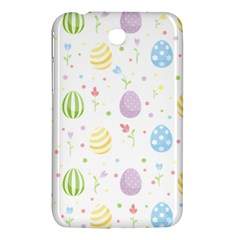 Easter Pattern Samsung Galaxy Tab 3 (7 ) P3200 Hardshell Case  by Valentinaart
