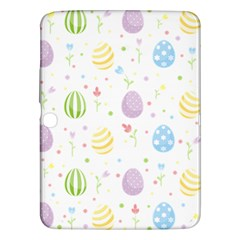 Easter Pattern Samsung Galaxy Tab 3 (10 1 ) P5200 Hardshell Case  by Valentinaart
