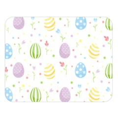 Easter Pattern Double Sided Flano Blanket (large)