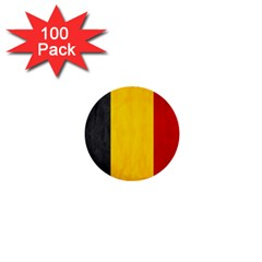 Belgium Flag 1  Mini Buttons (100 Pack)  by Valentinaart