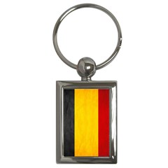 Belgium Flag Key Chains (rectangle)  by Valentinaart