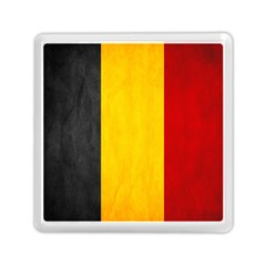 Belgium Flag Memory Card Reader (square)  by Valentinaart