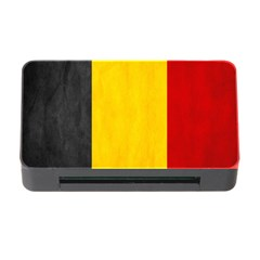 Belgium Flag Memory Card Reader With Cf by Valentinaart