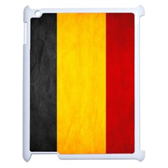 Belgium Flag Apple Ipad 2 Case (white) by Valentinaart