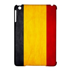 Belgium Flag Apple Ipad Mini Hardshell Case (compatible With Smart Cover) by Valentinaart