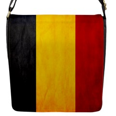 Belgium Flag Flap Messenger Bag (s) by Valentinaart