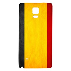 Belgium Flag Galaxy Note 4 Back Case by Valentinaart