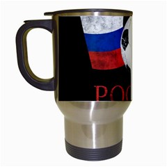 Russia Football World Cup Travel Mugs (white) by Valentinaart