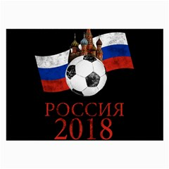 Russia Football World Cup Large Glasses Cloth (2 Side) by Valentinaart