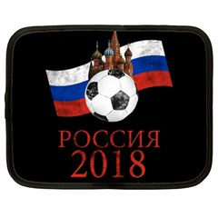 Russia Football World Cup Netbook Case (xxl)  by Valentinaart