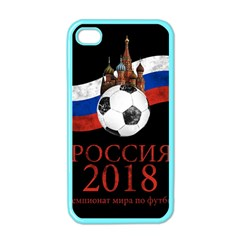 Russia Football World Cup Apple Iphone 4 Case (color) by Valentinaart