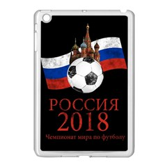 Russia Football World Cup Apple Ipad Mini Case (white) by Valentinaart