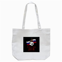 Russia Football World Cup Tote Bag (white) by Valentinaart